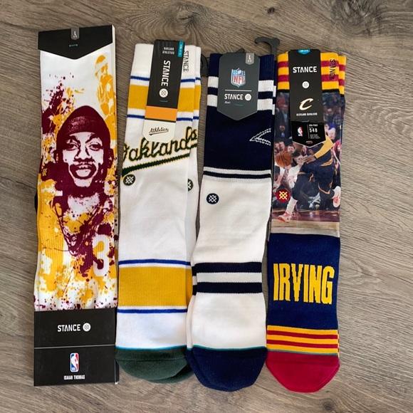 Brand new Stance socks.